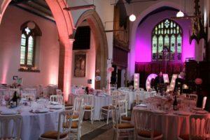 church venue, unusual event in London