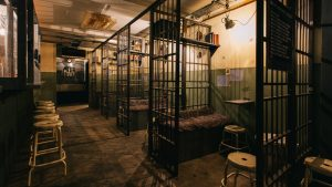 jailhouse bar venue, unusual event in London