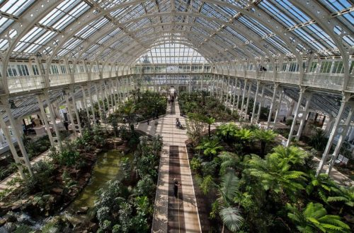 large greenhouse venue, unusual event in London