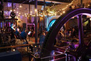 steam museum venue, unusual event in London