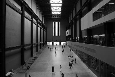 turbine hall venue, unusual event in London